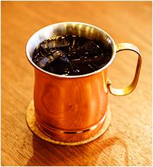 本日の水出しアイスコーヒー(Today's cold-brew iced coffee)
