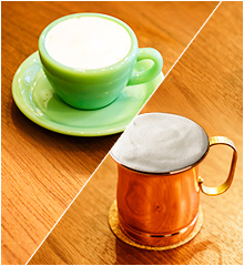 カフェラテ(Cafe latte Regular coffee with milk)